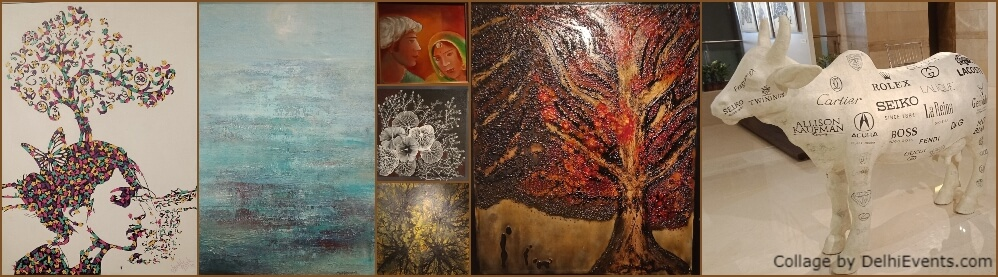 Group Show 8 Artists Art Junction Lalit CP Artworks