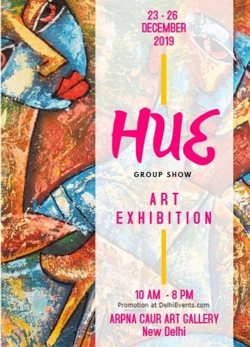 Hue Group Art Show Academy Fine Arts Literature Sirifort Institutional Area Creative