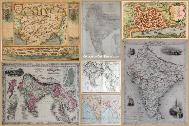 India Mapful Story Exhibition Unseen Historical Maps Other Important Engravings  Stills