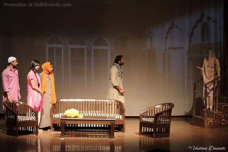 BelaTheatre Karwaan Asghar Wajahats Jis Lahore Nai Dekhya Woh Jamyai Nai Play Still