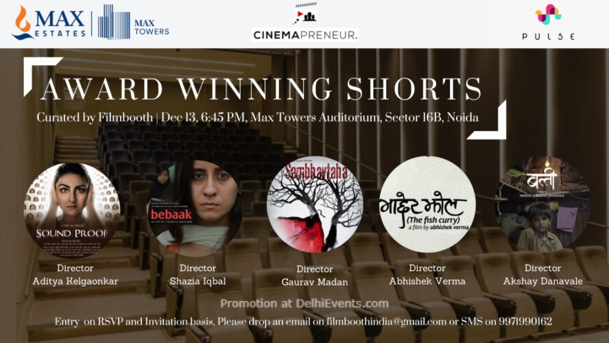 Award Winning Short Films Filmbooth Max Towers Noida Creative