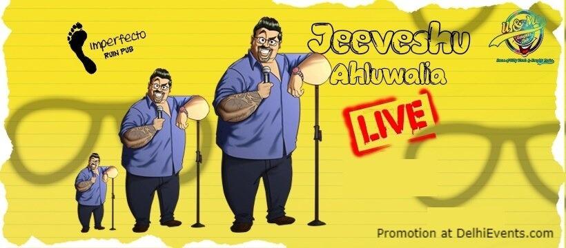 Jeevgatha Standup Comedy Jeeveshu Ahluwalia Imperfecto Ruin Pub Khel Gaon Marg Creative
