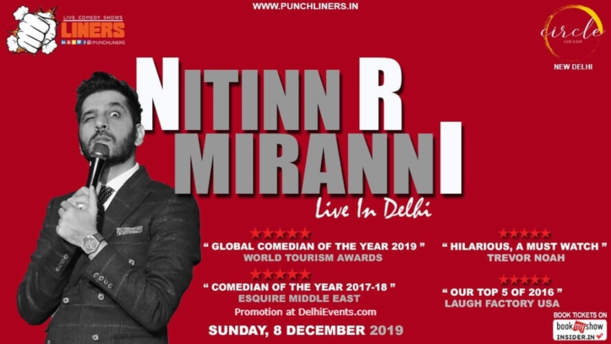 Standup Comedy Nitinn R Miranni Circle Cafe Kalkaji Creative