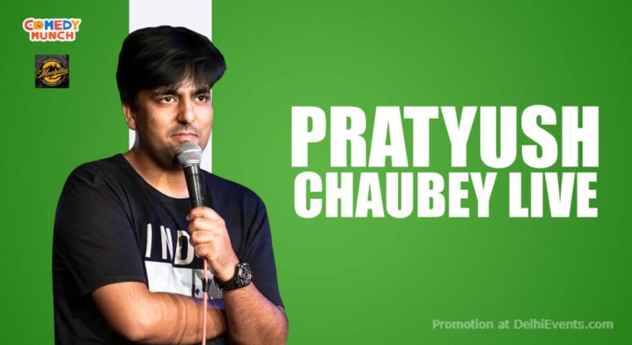 Standup Comedy Pratyush Choubey Manhattan Bar Exchange And Brewery Gurugram Creative