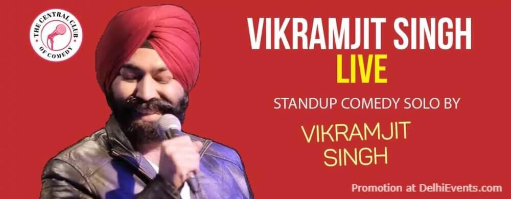 Standup Comedy Vikramjit Singh Dribble Cafe Gurugram Creative