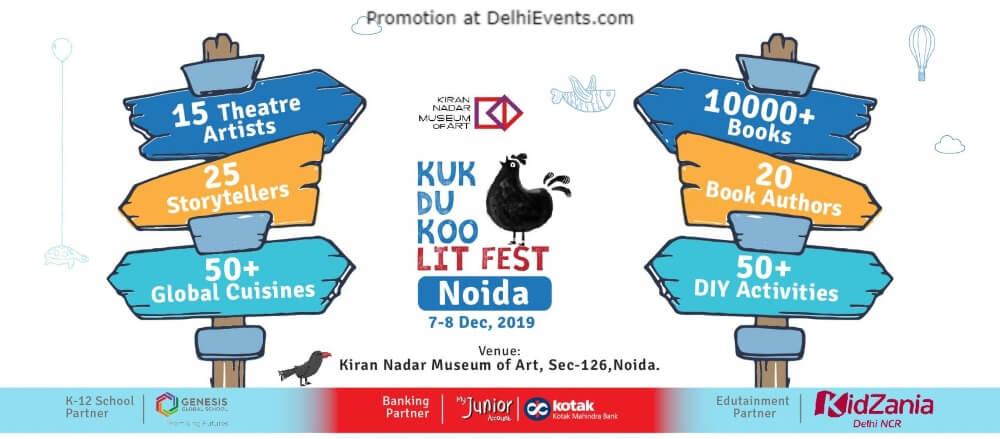 2Nd Kukdukoo Lit Fest Kiran Nadar Museum Art Saket Creative