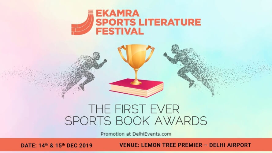 Ekamra Sports Literature Festival Lemon Tree Premier Aerocity Creative