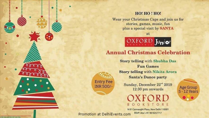 Oxford Junior Annual Christmas Celebration Bookstore CP Creative