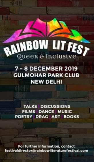 Rainbow Lit Fest Gulmohar Park Club Creative