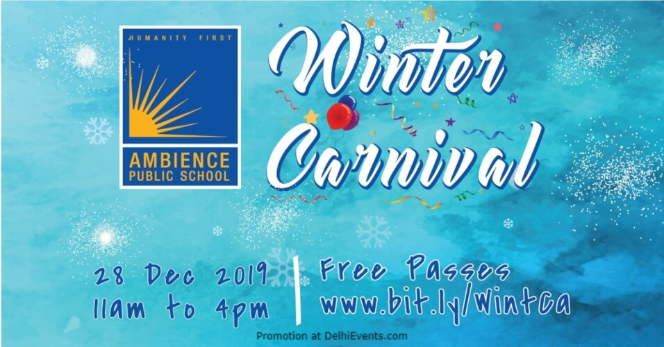Winter Carnival Ambience Public School Gurugram Creative