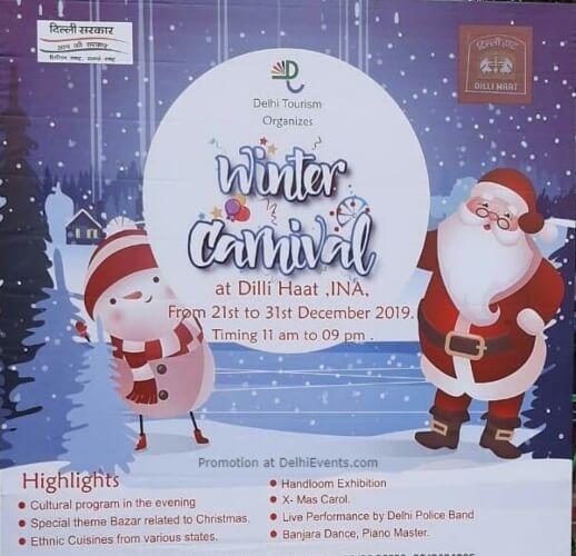 Winter Carnival Festival Dilli Haat INA Creative