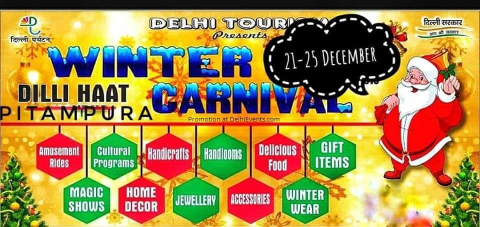 Winter Carnival Festival Dilli Haat Pitampura Creative