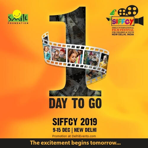 Fifth Edition Smile International Film Festival Children Youth Sirifort Auditorium Creative