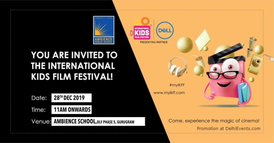 Internation Kids Film Festival Ambience Public School Gurugram Creative