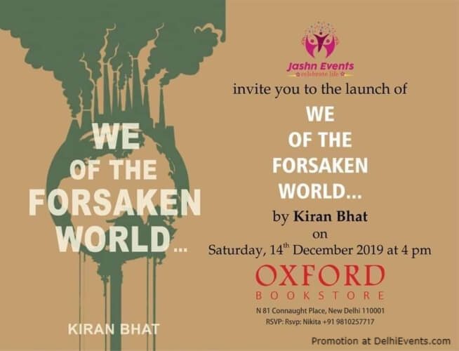 We Forsaken World Book Launch Oxford Bookstore CP Creative