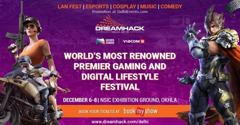 Dreamhack Delhi 2019 NSIC Okhla Creative