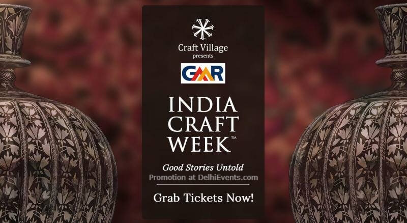 India CraWeek GMR Aerocity Indira Gandhi International Airport Creative