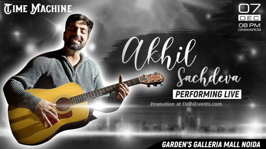 Akhil Sachdeva Performing Time Machine Noida Creative