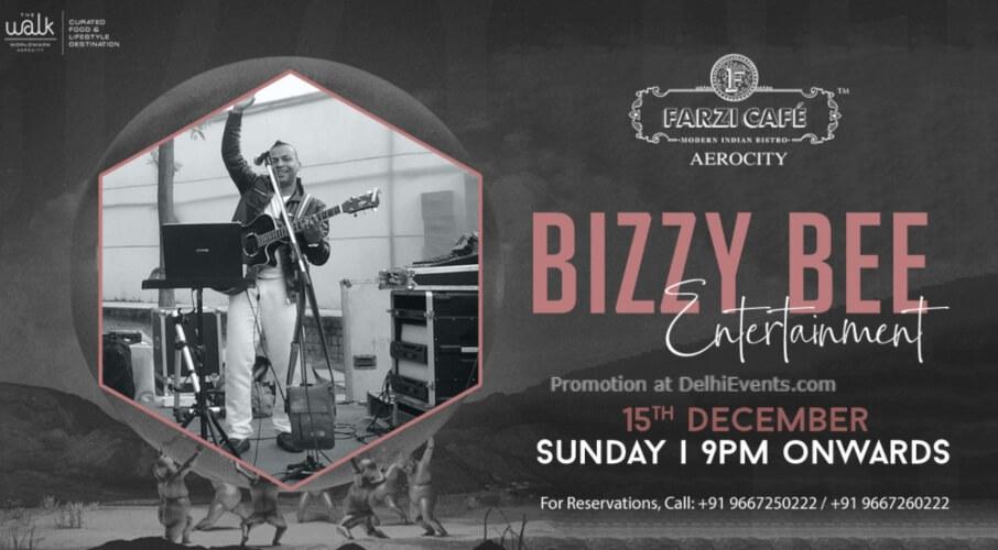 Bizzy Bee Entertainment Farzi Cafe Aerocity Creative