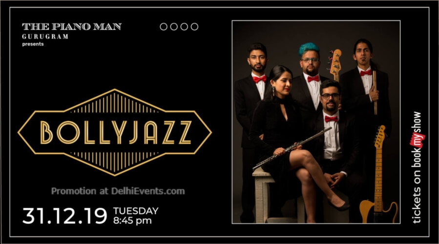 Bollyjazz Band Piano Man Gurugram Creative
