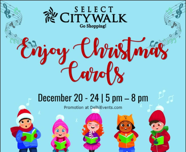 Christmas Carols Select Citywalk Saket Creative