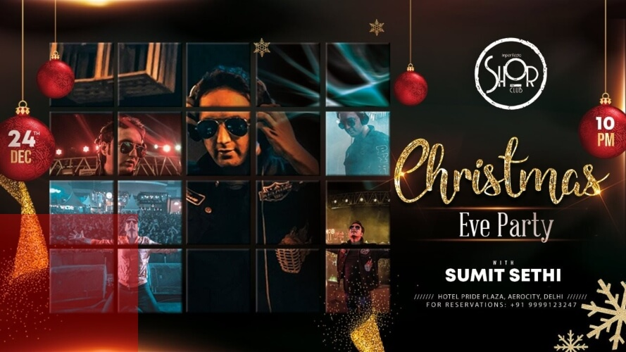 Christmas Eve Party Sumit Sethi Pride Plaza Hotel Aerocity Creative