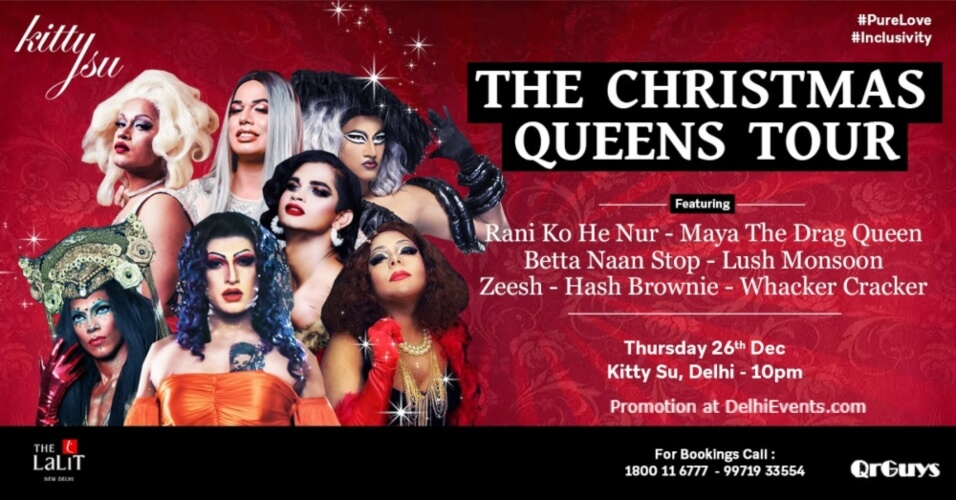 Christmas Queens tour Kitty Su Lalit Connaught Place Creative
