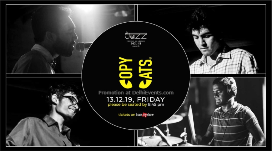 Copycats Band Piano Man Jazz Club Safdarjung Enclave Creative