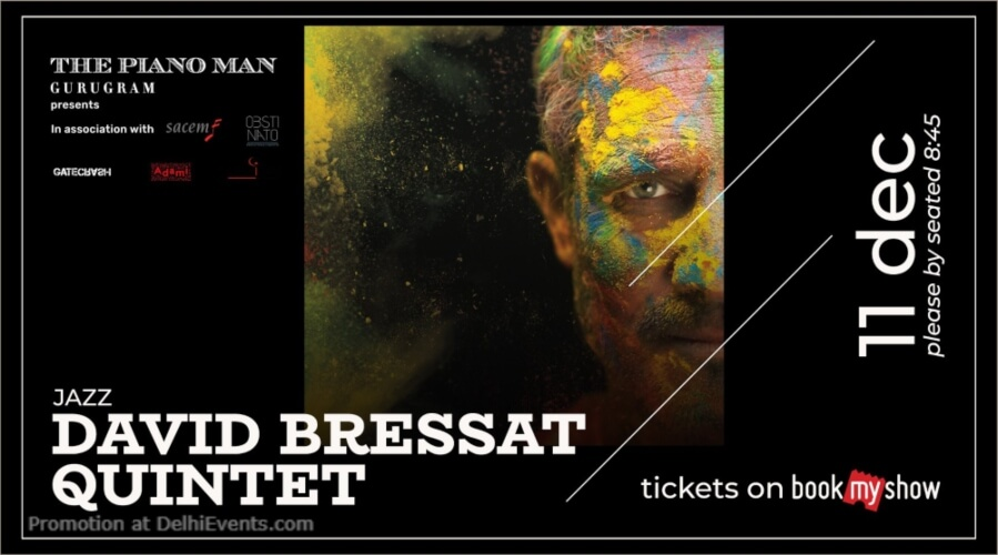 David Bressat Quintet Piano Man Gurugram Creative
