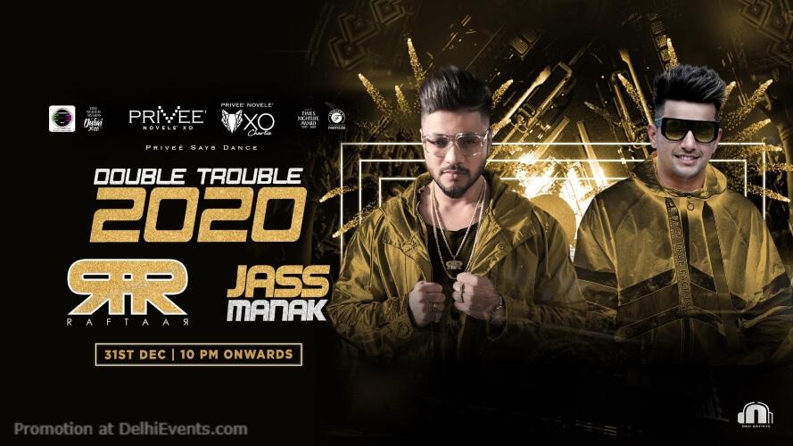 Double Trouble 2020 Raftaar Jass Manak Privee CP Creative