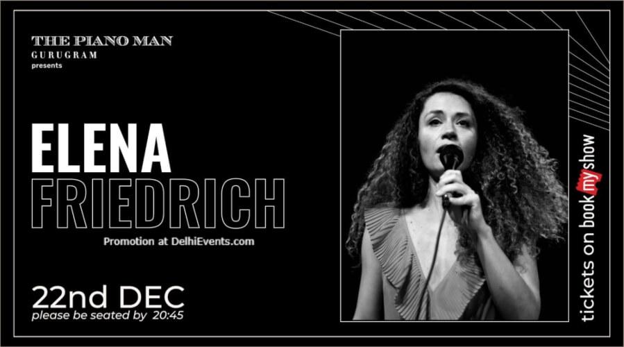 Elena Friedrich Piano Man Gurugram Creative