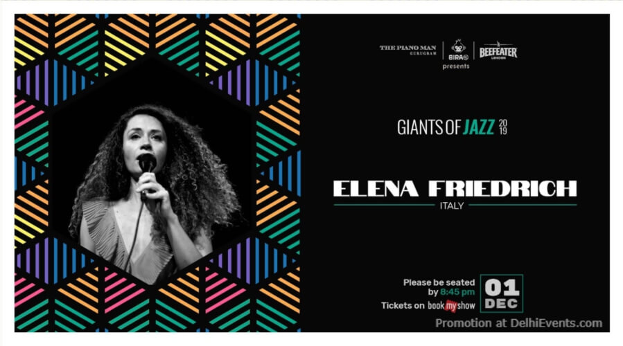 Giants Jazz 2019 Elena Friedrich Piano Man Gurugram Creative