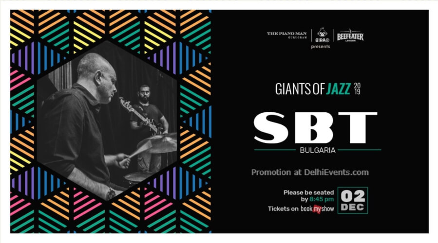Giants Jazz 2019 SBT Piano Man Gurugram Creative