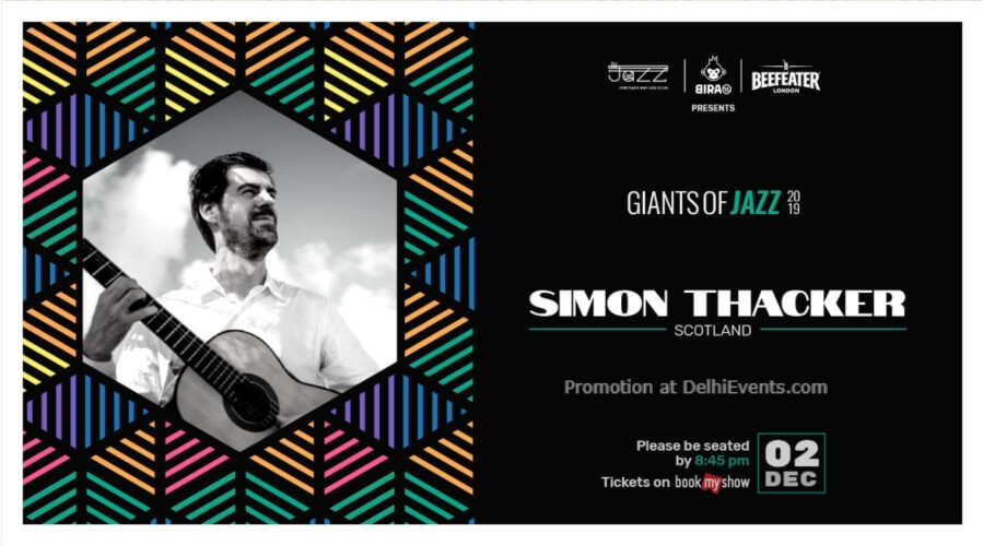 Giants Jazz 2019 Simon Thacker Piano Man Club Safdarjung Enclave Creative