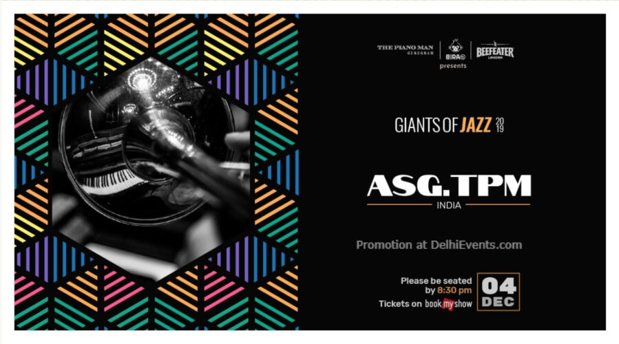 Giants Jazz 2019 AsgTpm Piano Man Gurugram Creative