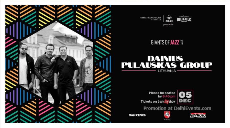 Giants Jazz 2019 Dainius Pulauskas Group Piano Man Gurugram Creative