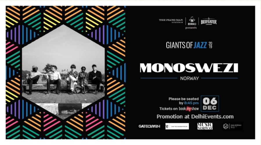Giants Jazz 2019 Monoswezi Piano Man Gurugram Creative