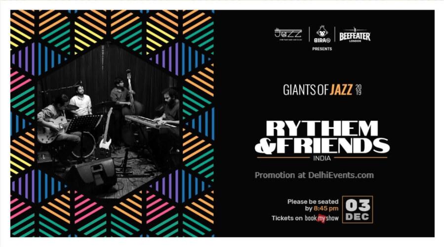 Giants Jazz 2019 Rythem Friends Piano Man Club Safdarjung Enclave Creative