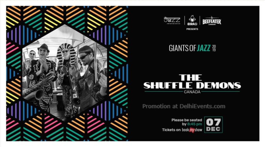 Giants Jazz 2019 Shuffle Demons Piano Man Club Safdarjung Enclave Creative