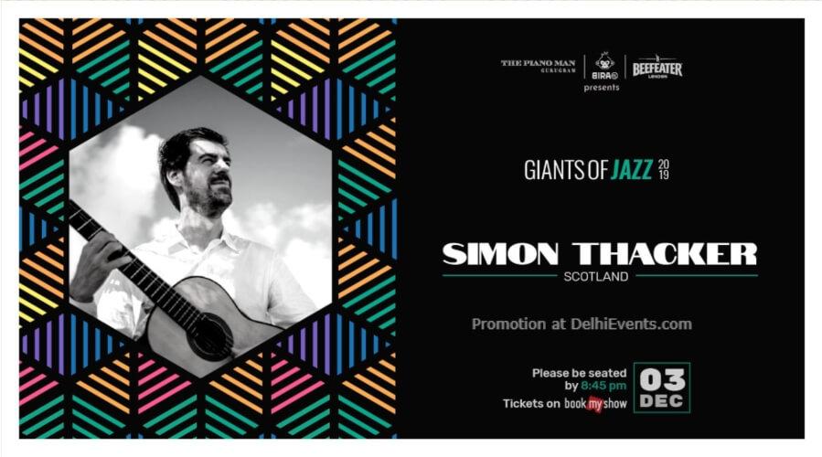 Giants Jazz 2019 Simon Thacker Piano Man Gurugram Creative