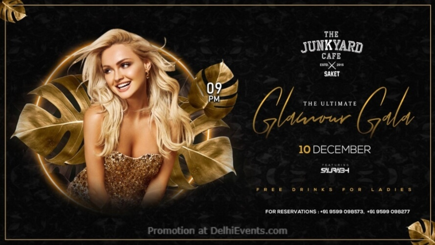 Glamour Gala Dj Saurabh Junkyard Cafe CP Creative