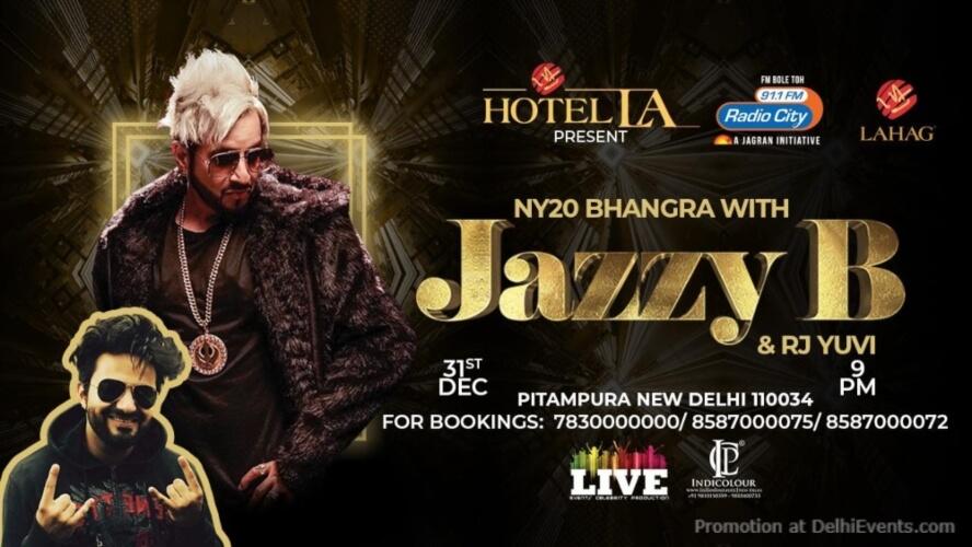 NY20 Bhangra Jazzy B RJ Yuvi Hotel LA Pitampura Creative