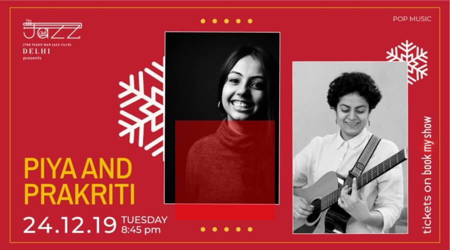 Piya Prakriti Piano Man Jazz Club Safdarjung Enclave Creative