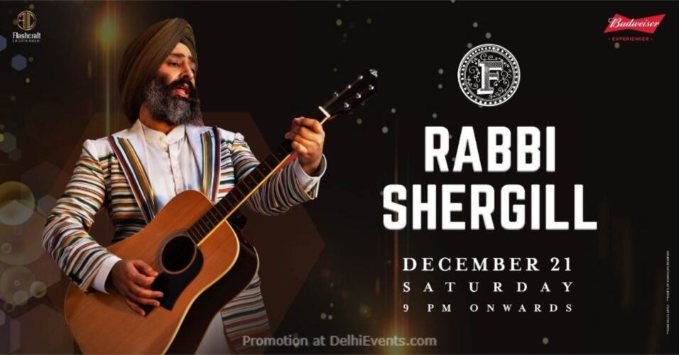 Rabbi Shergill Farzi Cafe Connaught Place Creative
