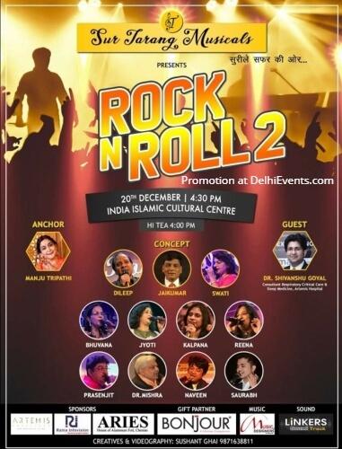 Rock Roll Sur Tarang Musicals India Islamic Cultural Centre Lodhi Road Creative
