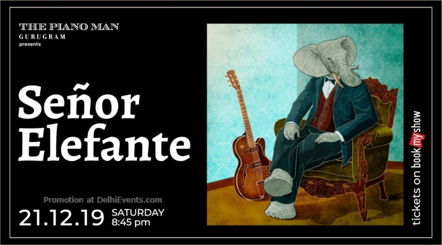 Senor Elefante Piano Man Gurugram Creative