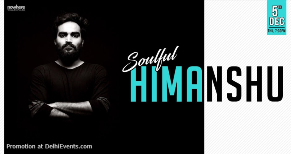 Soulful Himanshu Nowhere Terrace BrewPub Cafe Gurugram Creative