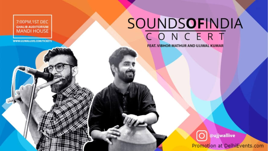 Sounds India Concert Ghalib Institute Mata Sundri Lane Creative