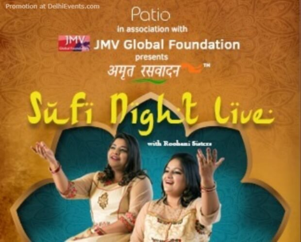 Sufi Night Roohani Sisters Club Patio Gurugram Creative