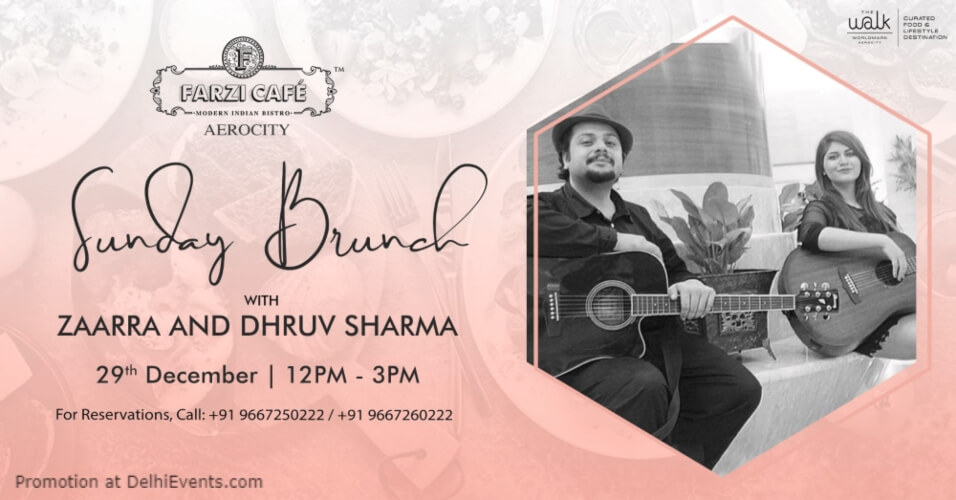 Sunday Brunch Zaarra Dhruv Sharma! Sunder Nursery Nizamuddin Creative